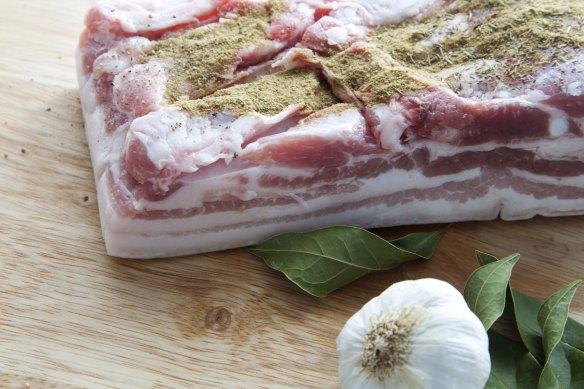 bacon casero